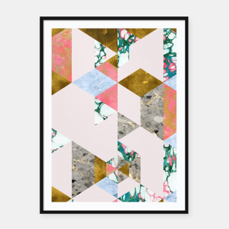 Thumbnail image of Geometry of Love Framed poster, Live Heroes