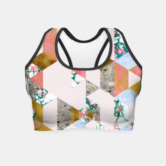 Thumbnail image of Geometry of Love Crop Top, Live Heroes