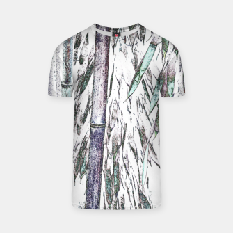 Thumbnail image of Bamboo Forest  T-shirt, Live Heroes