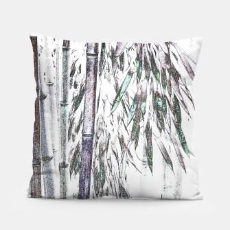 Thumbnail image of Bamboo Forest  Pillow, Live Heroes