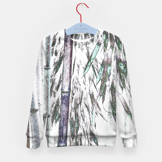 Thumbnail image of Bamboo Forest  Kid's sweater, Live Heroes