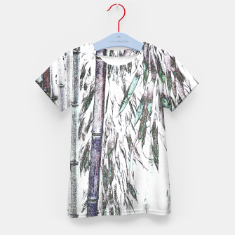 Thumbnail image of Bamboo Forest  Kid's t-shirt, Live Heroes