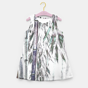 Thumbnail image of Bamboo Forest  Girl's summer dress, Live Heroes