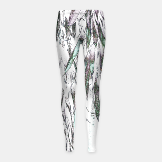 Thumbnail image of Bamboo Forest  Girl's leggings, Live Heroes
