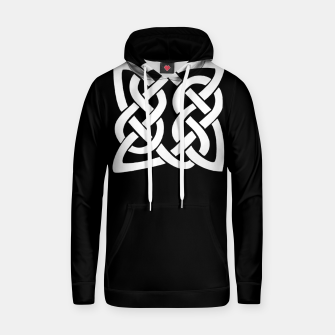 Thumbnail image of Celtic Viking Tribal Ornament Cotton hoodie, Live Heroes