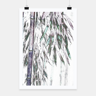Thumbnail image of Bamboo Forest  Poster, Live Heroes