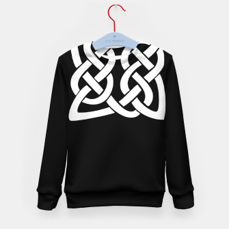 Thumbnail image of Celtic Viking Tribal Ornament Kid's sweater, Live Heroes