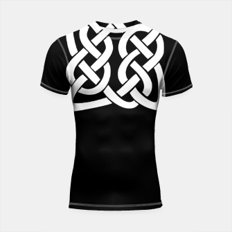 Thumbnail image of Celtic Viking Tribal Ornament Shortsleeve rashguard, Live Heroes