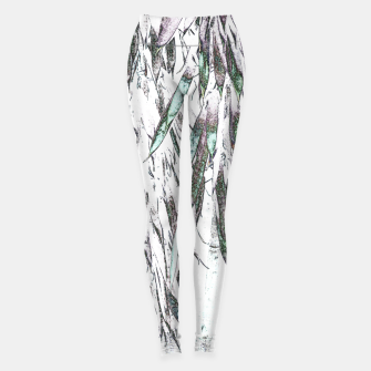 Thumbnail image of Bamboo Forest  Leggings, Live Heroes