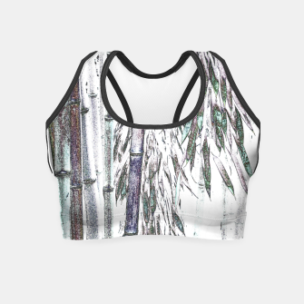 Thumbnail image of Bamboo Forest  Crop Top, Live Heroes