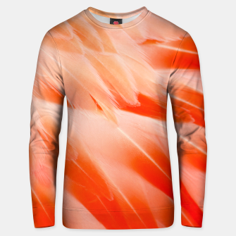 Thumbnail image of Pink Flamingo Feathers Cotton sweater, Live Heroes