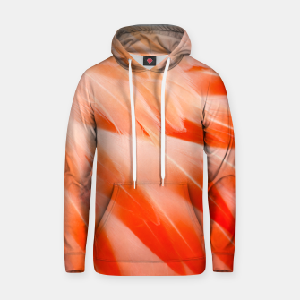 Thumbnail image of Pink Flamingo Feathers Cotton hoodie, Live Heroes