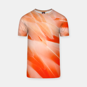 Thumbnail image of Pink Flamingo Feathers T-shirt, Live Heroes