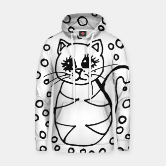 Thumbnail image of Cute Fluffy Cat Points Cotton hoodie, Live Heroes