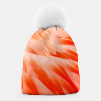Thumbnail image of Pink Flamingo Feathers Beanie, Live Heroes