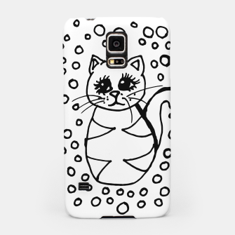 Thumbnail image of Cute Fluffy Cat Points Samsung Case, Live Heroes
