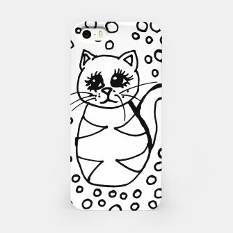 Miniaturka Cute Fluffy Cat Points iPhone Case, Live Heroes