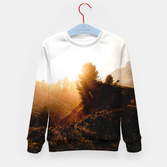 Thumbnail image of Sunrise Mine Kid's sweater, Live Heroes