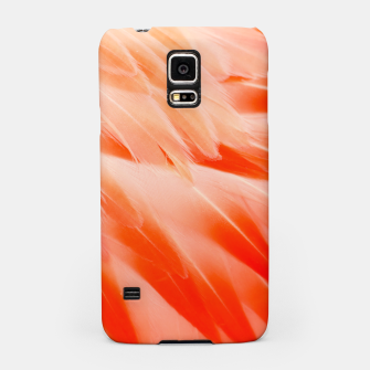 Thumbnail image of Pink Flamingo Feathers Samsung Case, Live Heroes