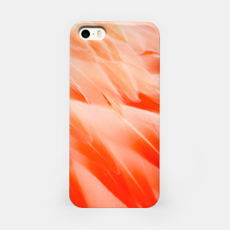 Thumbnail image of Pink Flamingo Feathers iPhone Case, Live Heroes