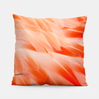 Thumbnail image of Pink Flamingo Feathers Pillow, Live Heroes