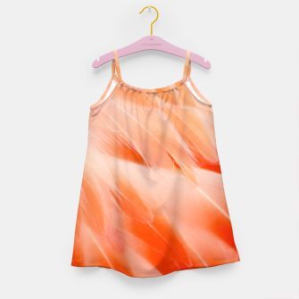 Thumbnail image of Pink Flamingo Feathers Girl's dress, Live Heroes