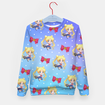 Chibi Usagi Kid's sweater obraz miniatury