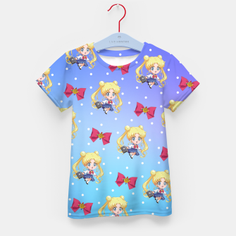 Thumbnail image of Chibi Usagi Kid's t-shirt, Live Heroes