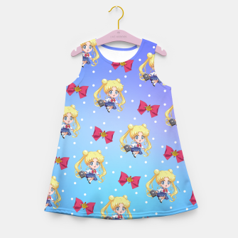 Miniaturka Chibi Usagi Girl's summer dress, Live Heroes