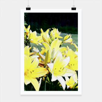 Thumbnail image of YELLOW Flower Plakat, Live Heroes