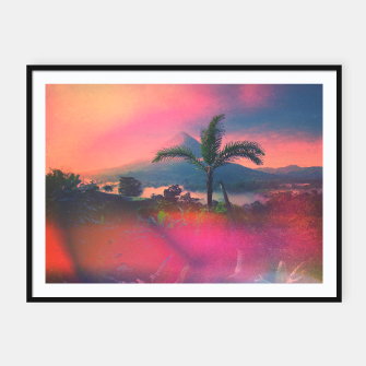 Thumbnail image of Volcan Arenal Framed poster, Live Heroes