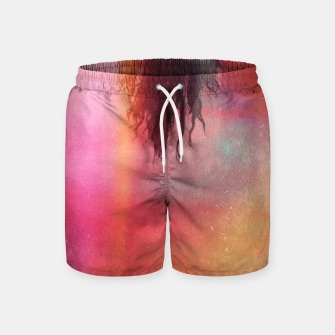 Thumbnail image of The Upside Down World Swim Shorts, Live Heroes
