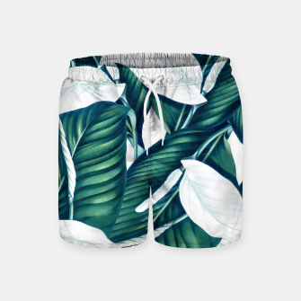Thumbnail image of Tropical Winter Swim Shorts, Live Heroes