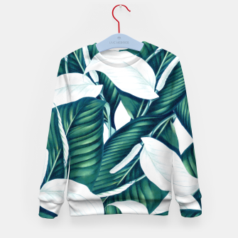 Thumbnail image of Tropical Winter Kid's sweater, Live Heroes