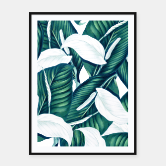 Thumbnail image of Tropical Winter Framed poster, Live Heroes