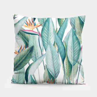 Thumbnail image of Back to Paradise Island Pillow, Live Heroes