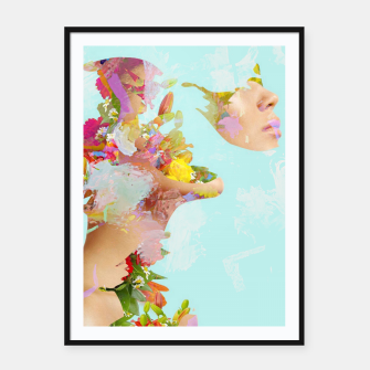 Thumbnail image of Summer Day Framed poster, Live Heroes