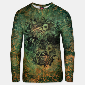 Thumbnail image of Floral Skull Skin Cotton sweater, Live Heroes