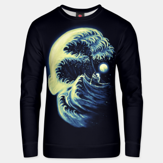 Thumbnail image of Death Wave Cotton sweater, Live Heroes