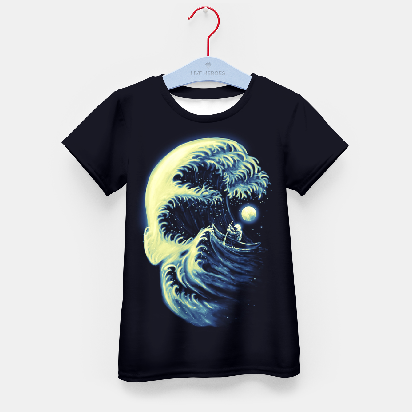 Image of Death Wave Kid's t-shirt - Live Heroes