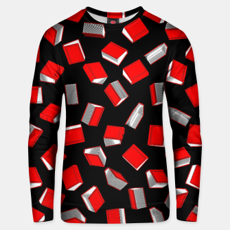 Thumbnail image of Polka Dot Books Pattern Cotton sweater, Live Heroes