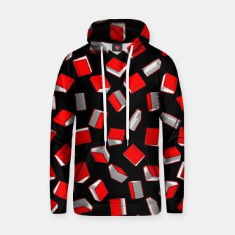 Thumbnail image of Polka Dot Books Pattern Cotton hoodie, Live Heroes