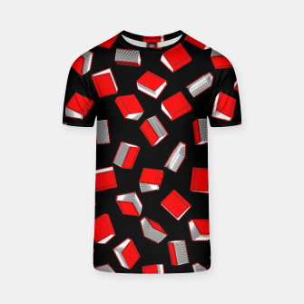 Thumbnail image of Polka Dot Books Pattern T-shirt, Live Heroes