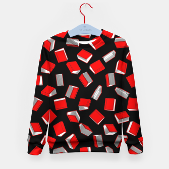 Thumbnail image of Polka Dot Books Pattern Kid's sweater, Live Heroes