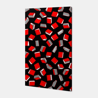 Thumbnail image of Polka Dot Books Pattern Canvas, Live Heroes