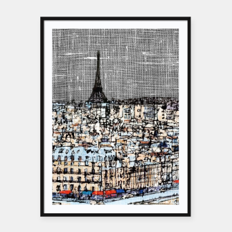 Thumbnail image of Paris Framed poster, Live Heroes