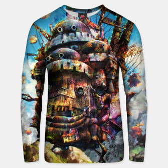 Thumbnail image of howl's moving castle Cotton sweater, Live Heroes
