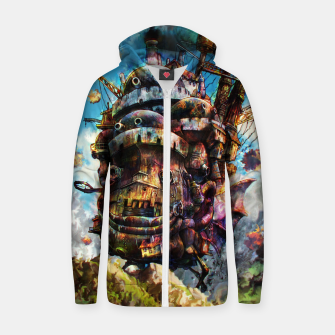 Miniaturka howl's moving castle Cotton zip up hoodie, Live Heroes