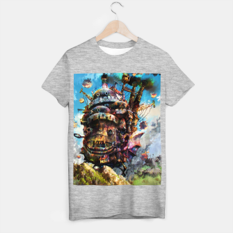 Miniaturka howl's moving castle T-shirt regular, Live Heroes
