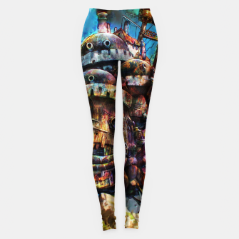 Miniaturka howl's moving castle Leggings, Live Heroes